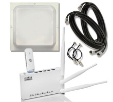 "Комплект интернет в селе ""Netis Глубинка"" (WiFi роутер + 3G/4G модем + MIMO антенный комплект )"