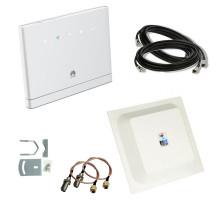 Комплект 4G WiFi роутер Huawei B315s-22 + 4G антенна MIMO 2x15 дБ + кабель + переходники