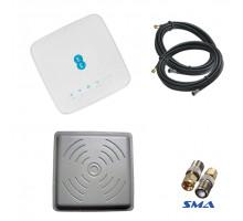 4G комплект WiFi роутер Alcatel HH70VB c антенной Rnet 2x24 дБ и кабель