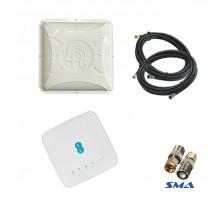 4G комплект WiFi роутер Alcatel HH70VB c антенной Alta 2x16 дБ и кабелем