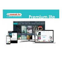 Лицензия online-кинотеатр SWEET.TV Пакет Premium lite