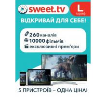 Лицензия на интернет ТВ и онлайн кинотеатра SWEET.TV L
