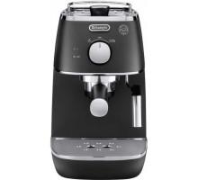Рожковая кофеварка эспрессо Delonghi Distinta ECI 341.BK