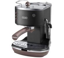 Рожковая кофеварка эспрессо Delonghi Icona Vintage ECOV 311.BK