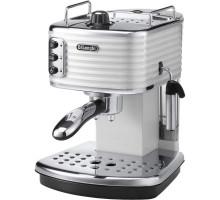 Рожковая кофеварка эспрессо Delonghi Scultura ECZ 351.W