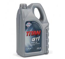 Моторное масло синтетическое FUCHS TITAN GT1 FLEX 34 5W-30 5 л
