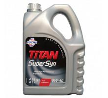Моторное масло синтетическое FUCHS TITAN SUPERSYN 5W-40 4л