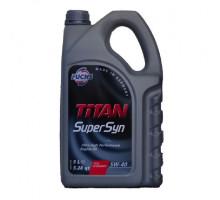 Моторное масло синтетическое FUCHS TITAN SUPERSYN 5W-40 5л