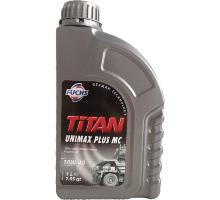 Моторное масло полусинтетическое FUCHS TITAN UNIMAX PLUS MC 10W-40 1л