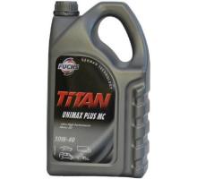 Моторное масло полусинтетическое  FUCHS TITAN UNIMAX PLUS MC 10W-40 5л