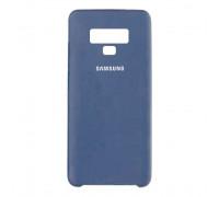 Чехол для Samsung Galaxy Note 9 Dark Blue Soft Case