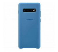 Чехол для Samsung Galaxy S10 Plus Dark Blue  Soft Matte Case