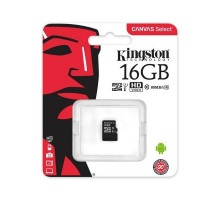 Kingston 16 GB microSDHC Class 10 UHS-I Canvas Select SDCS/16GBSP
