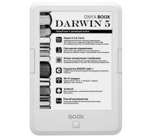 Электронная книга с подсветкой ONYX BOOX Darwin 5 White