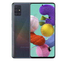 Смартфон Samsung Galaxy A51 2020 4/64GB Black (SM-A515FZKU)
