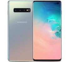 Смартфон Samsung Galaxy S10 SM-G973 DS 128GB Silver (SM-G973FZSD)