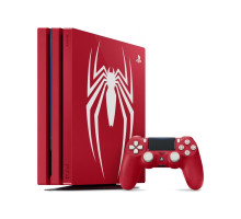 Sony PlayStation 4 Pro (PS4 Pro) 1TB Limited Edition Red + Spidernan