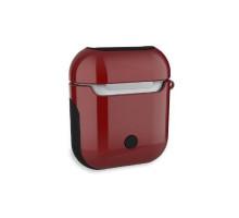 Кейсы для наушников и гарнитур WIWU iShell TPU Case Transperent Red