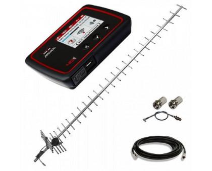 Комплект 3G/4G WiFi роутер Novatel 6620L + антенна 24 дБ + кабель RG-58U + переходник