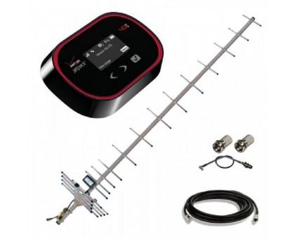 Комплект 3G WiFi роутер Novatel 5510L + антенна 19 дБ + кабель RG-58U + переходник