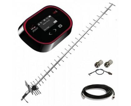 Комплект 3G WiFi роутер Novatel 5510L + антенна 24 дБ + кабель RG-58U + переходник