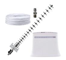 Комплект 4G WiFi роутер ZTE 283U + 4G антенна 21 дБ + кабель RG-58U + переходник