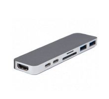 Адаптер HyperDrive Thunderbolt 3 USB-C Hub Space Gray для MacBook Pro/Air