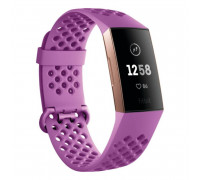 Фитнес-браслет Fitbit Charge 3 Rose-Gold/Berry FB409RGMG