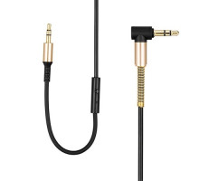 Hoco AUX Audio Cable 3.5MM with Control RM-L200 2M