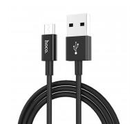 Кабель USB Hoco X23 Micro USB Cable Black