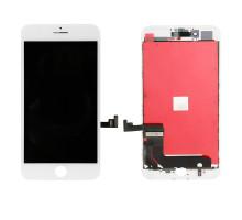 Дисплей iPhone 7 Plus Белый (LCD экран, тачскрин, стекло в сборе) Tianma Сopy