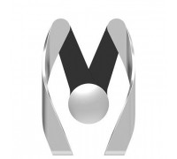 ROCK AutoBot M vent car holder Resin Silver (ABM0001-Silver)